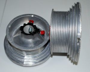 High Lift Garage Door Cable Drums