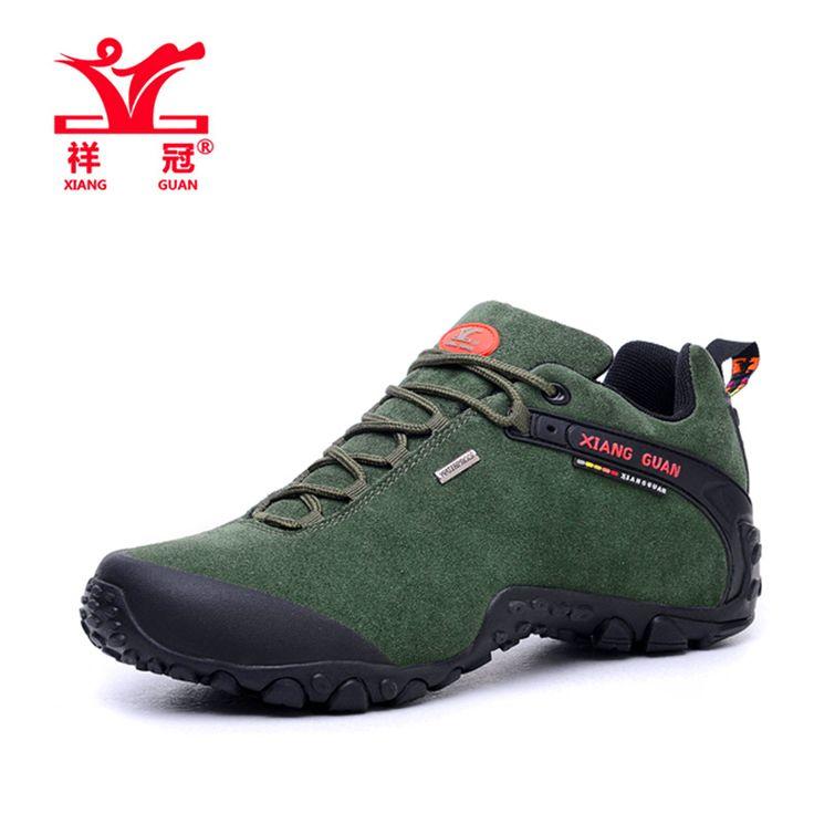 Marca de Qualidade Dos Homens de Esportes Ao Ar Livre Escalada de Montanha de Trekking Tênis para caminhada Tênis Para Os Homens Do Exército Verde Homem Sapatos Senderismo em Tênis para caminhada de Sports & Entretenimento no AliExpress.com | Alibaba Group