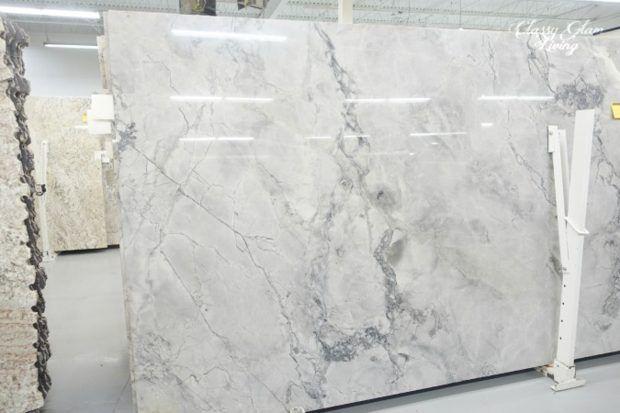 Quartz Countertop That Looks Like Carrara Marble Dreamy Quartz Countertop That Looks L White Granite Countertops Marble Countertops Kitchen Kitchen Countertops
