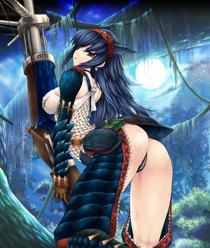 Anime girl. Ecchi