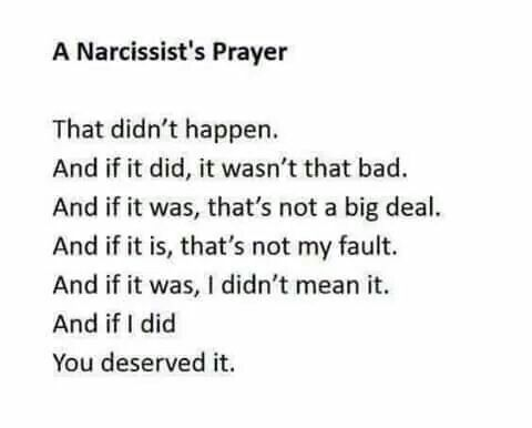 Going thru this now. It's sick how he can deny all forms of abuse and basically not only call me a liar but our children who witnessed it and were inflicted. All to save his own face. Best thing was removing us from a toxic place. We are safe...Just breathe