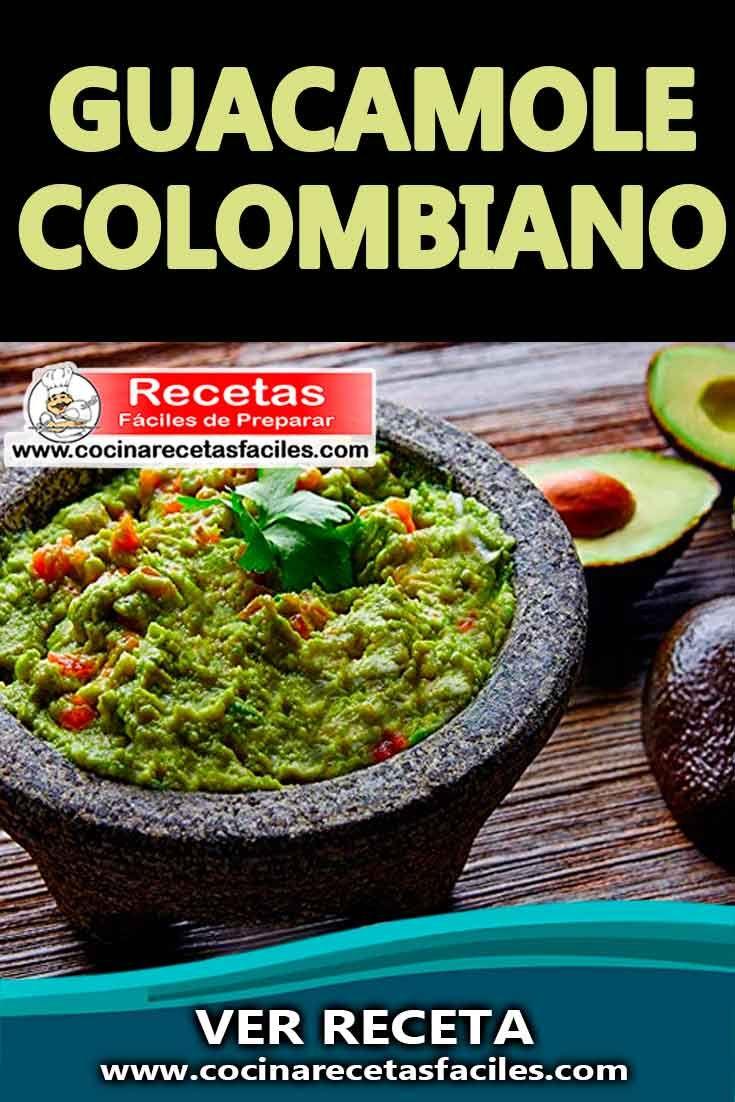 16+ Receta guacamole colombiano ideas in 2021