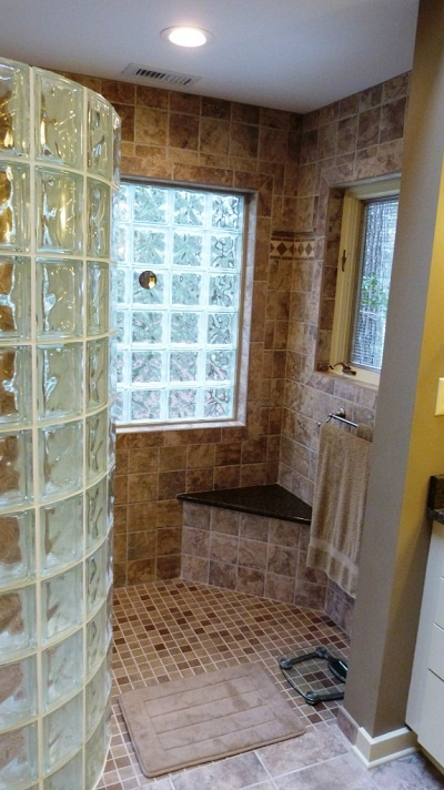 19 best Quality Glass Block - Showers images on Pinterest   Glass ...