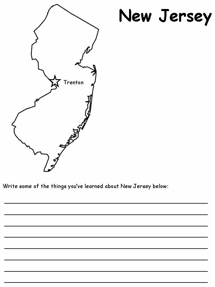 Printable Worksheets united states regions worksheets : 15 best NJ images on Pinterest | Geography, New jersey and 50 states