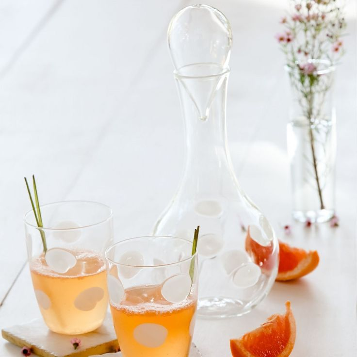 Casual Drinkware   Cute Glassware   Polka Dot Accessories   Drinking in Style