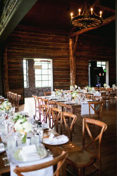 Presidio Log Cabin Photography by lizlovi.com Bouquets by churchstreetflowers.com Table Arrangements by farmgirlflowers.com Read more - http://www.stylemepretty.com/2013/07/11/san-francisco-wedding-from-liz-lovi-photography/