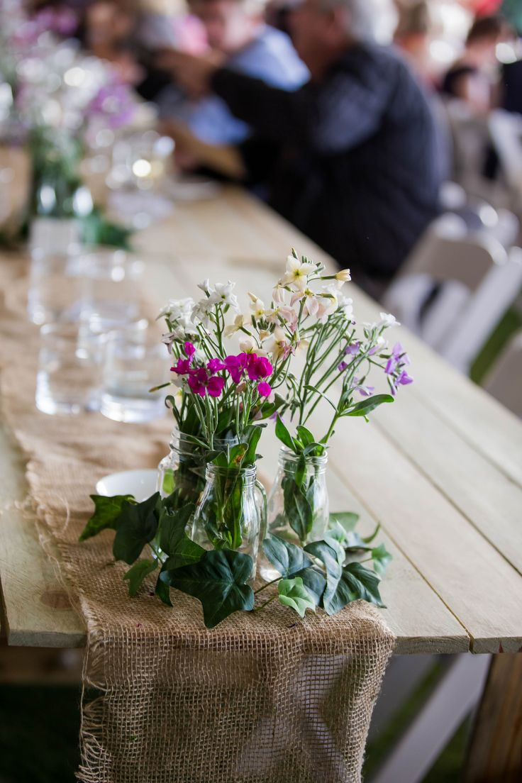 Rustic inspired table setting within the Winter Feast