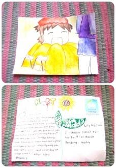 kartupos dari @fanniy !! digambar sendiri dan lucuuuuuuuuuu banget (:  aih suka banget sama kartupos yang satu ini :D :D    -- Thanks Lily :)