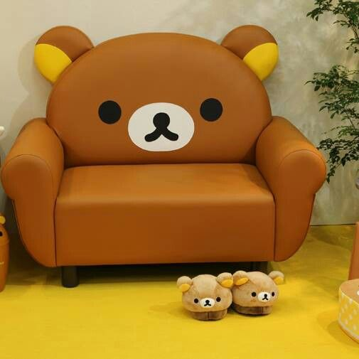 Rilakkuma ♡ Couch and Slippers. Relax with Me Time!