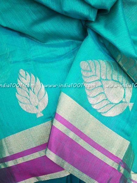 Designer Handwoven Chanderi Saree