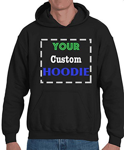 64f0e66e Unisex Custom Hoodie, Design Your own Jersey Hoodie - 2 Side Special  Customized Print -