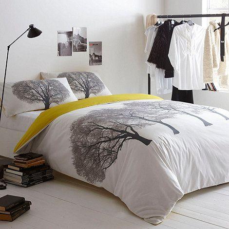 Ben de Lisi Home White 'Trees' bedding set- at Debenhams.com