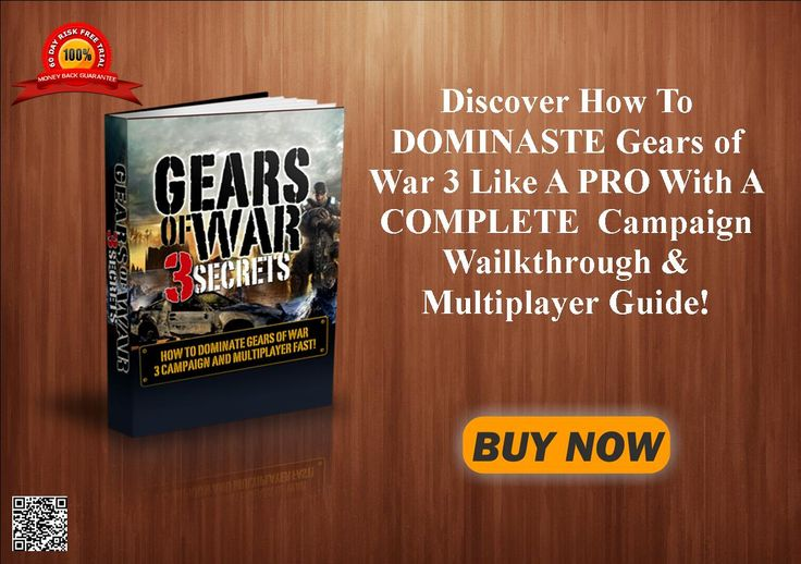 Discover How To DOMINASTE Gears of War 3 Like A PRO With A COMPLETE  Campaign Wailkthrough & Multiplayer Guide! http://80c1e6u52dhx2mdfukjw157r4i.hop.clickbank.net/?tid=ATKNP1023