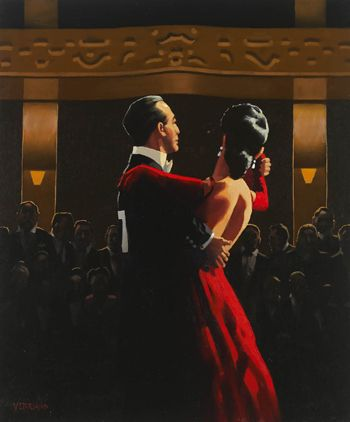 """""""Lucky Number 7"""" Jack Vettriano"""