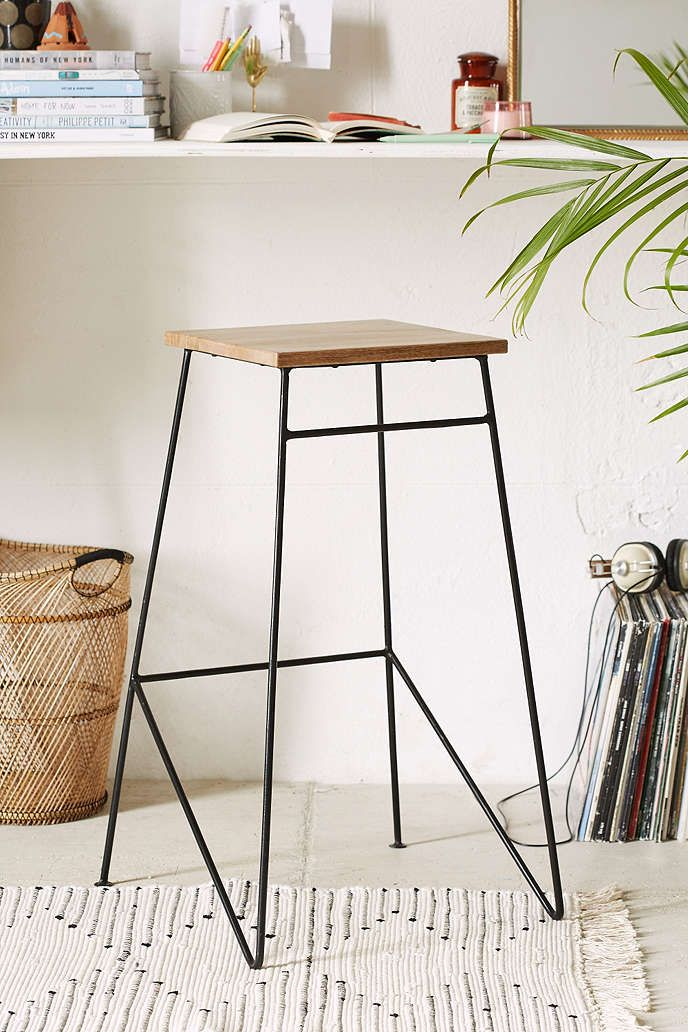 Industrial Stool - Urban Outfitters
