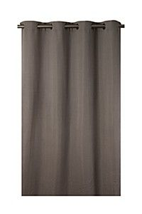 TEXTURED WEAVE 140X225CM EYELET CURTAIN