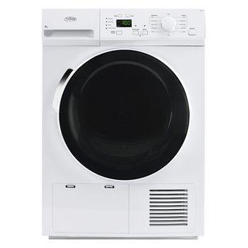 Belling FCD800 PREMIUM 8kg Load Condenser Tumble Dryer Class B White