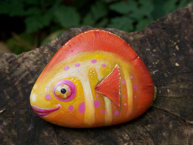17 Best Images About Galets Poissons On Pinterest