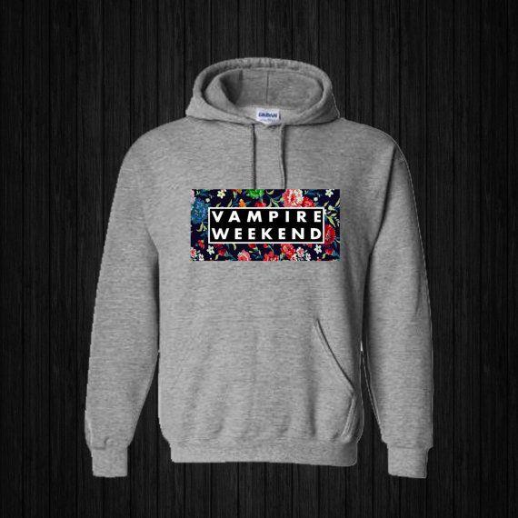 Vampire Weekend Floral Hoodies Hoodie Sweatshirt by sijilbab13