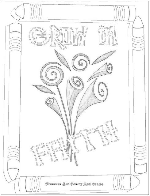 Faith coloring sheet coloring sheets for class for Faith in jesus coloring page