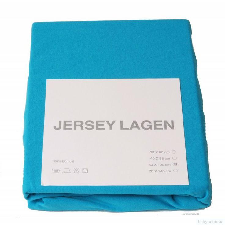 Lagen i drengefarve der passer til sengetøjet - 60x120cm fx fra babyhome  Lagner / Lagen til tremmeseng - vælg i mellem 9 farver - Lagner, linned og sengerande - Møbler / Senge / Stole - Babyudstyr