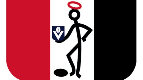 Old school St Kilda Saints logo