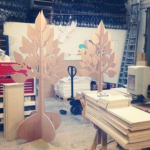 CNC cut trees by Synchronized liquid, cut by Lost Heritage …
