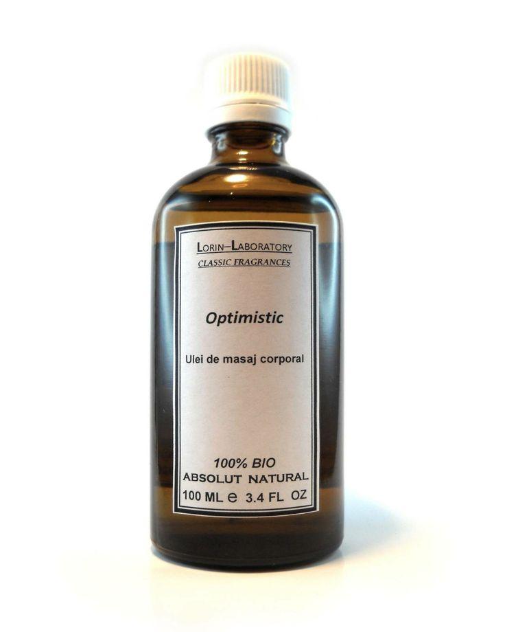 Produse cosmetice personalizate mai multe detalii pe www.lorinlab.com ulei corporal unisex Ulei corporal Optimistic