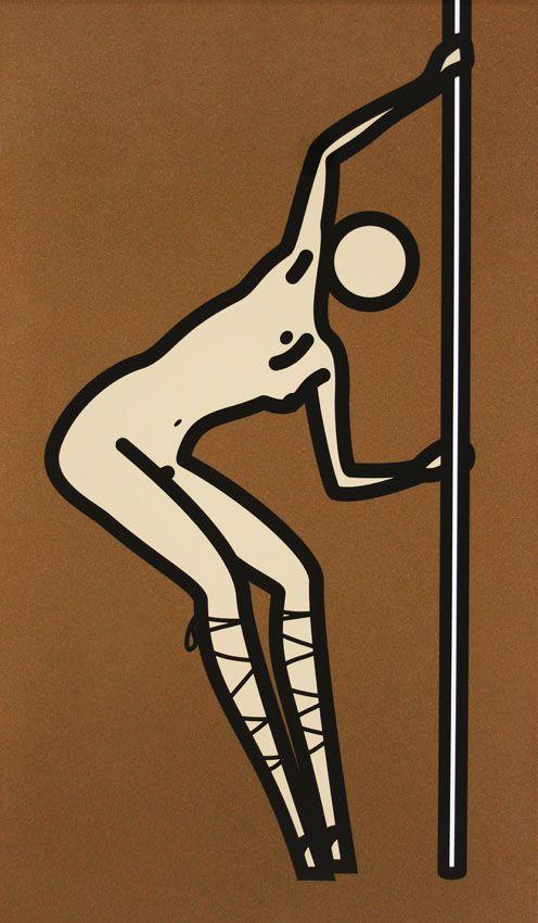 Julian Opie @GalerieLaurentStrouk