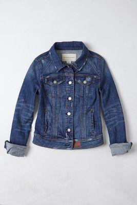 Anthropologie denim jacket
