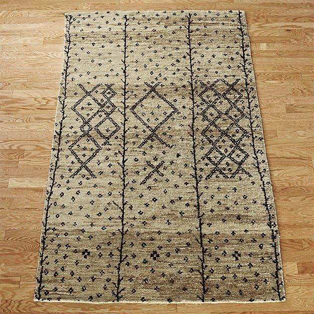 Shop berber rug.   Rich in texture and design, plush pile rug is a bit of a chameleon.  Due to the unique hand-tufting, natural jute weave skews either ivory or warm yellow, depending on the angle.