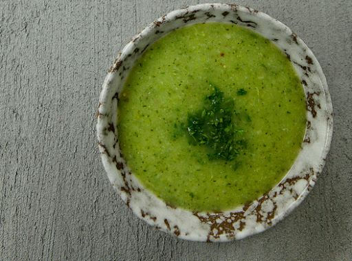 Broccoli- gourchette soep