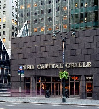 The Capital Grille Restaurant New York NYC Manhattan Grill