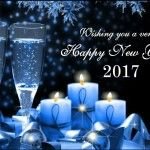 Unique Happy New Year Greeting eCards 2017 to Send Online and Share