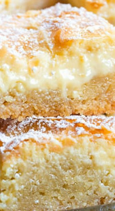 The Best Gooey Butter Cake Recipe From Scratch