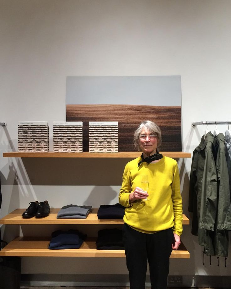paulphung: Last year I started a new project with Tibor Reich and some of this new work was on show tonight at the Margaret Howell flagship store. Many thanks to Tibor and also to the amazing woman standing in front of my work Margaret Howell