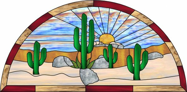 southwest stained glass patterns free - Google Search