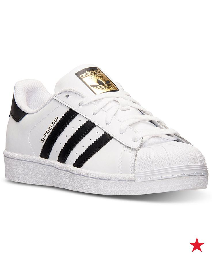 First introduced in 1969, the adidas Superstar style has some serious staying power. Retro and mod at the same time, these kicks are a serious must for back to school.