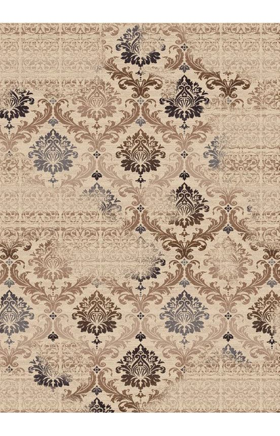 Dynamic Rugs Outdoor Escapes 2198 Cream Rug