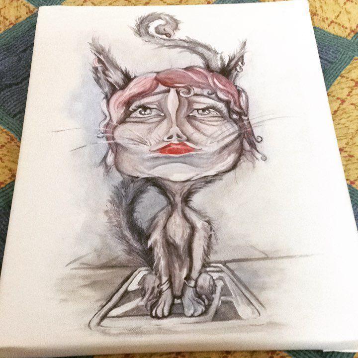 """Mi piace"": 13, commenti: 1 - Silvestri Anastasia (@anast_silvestri) su Instagram: ""#anast #anastasia #anastleimiparla #gatto #woman #bari #katze #cats #frau #armbänder #piercing…"""