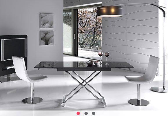 Long, mesas centro y elevables, Ramiro Tarazona