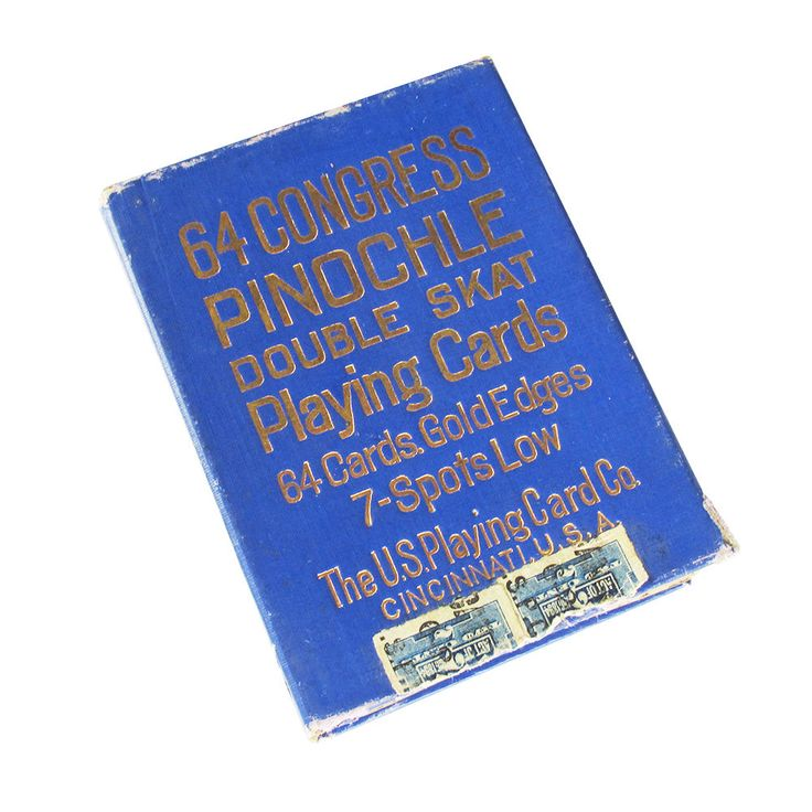 1911 Congress 606, 64 Congress Pinochle Playing Cards, U.S. Playing Card Co., Antique Pinochle Cards by leapinglemming on Etsy