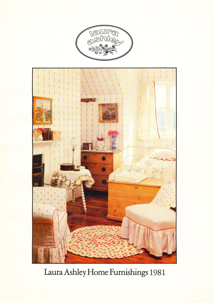 Our Home Furnishings Brochure from 1981 #lauraashley60