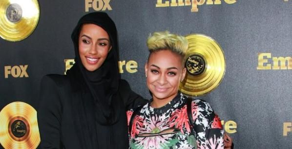 Raven-Symoné Spotted Out with Girlfriend AzMarie