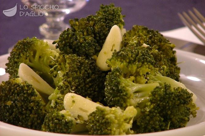 Broccoli aglio e olio