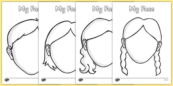 25 unique face template ideas on pinterest html head for Mouth template for preschool
