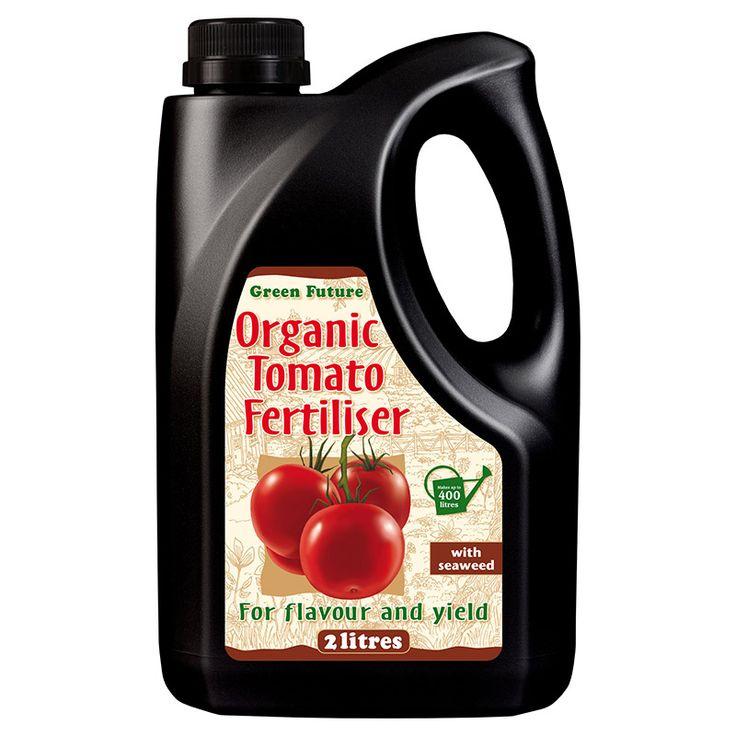 Green Future - Organisk tomatgödning 2 Liter #Tomatgödning #Näring #Organisk