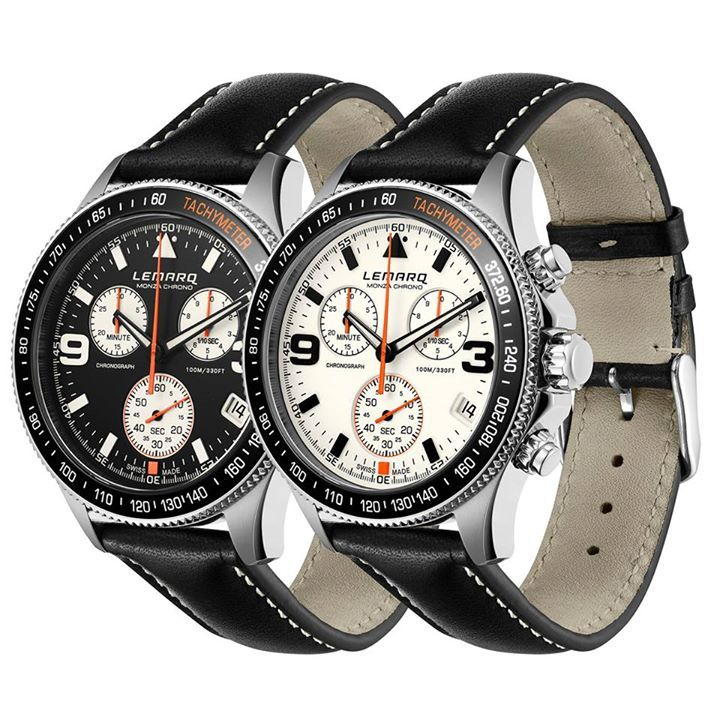 A stylish sports watch for any occasion. #chrono #timepiece #racing #formule1