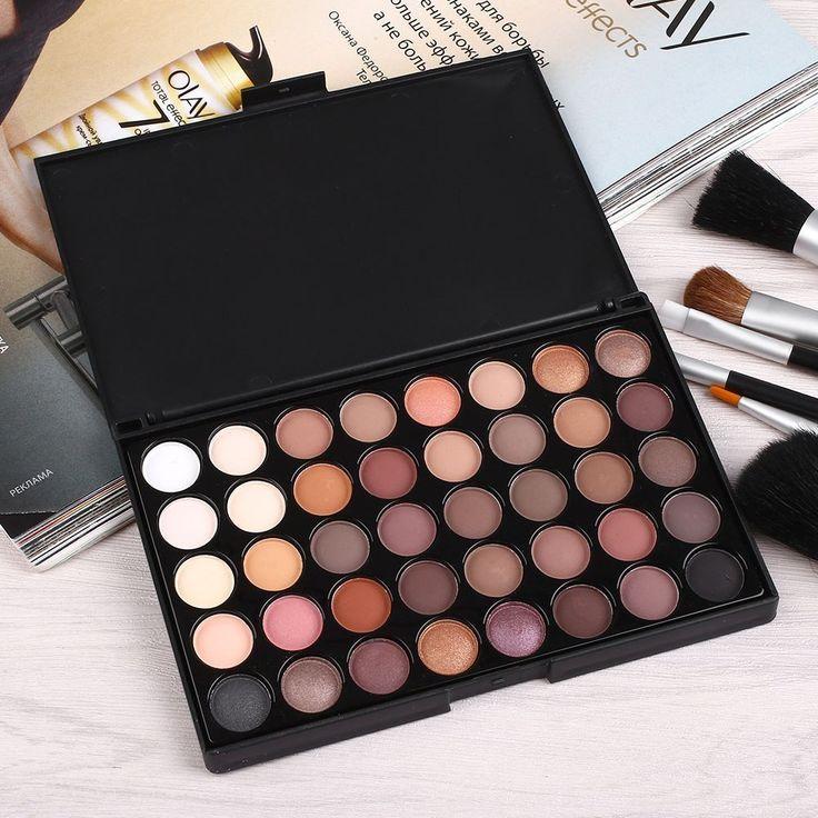 Palette of 40 shades   (3.16$)  Палетка теней из 40 оттенков (185р)   ➡http://ali.pub/f3jk1 #aliexpress makeup