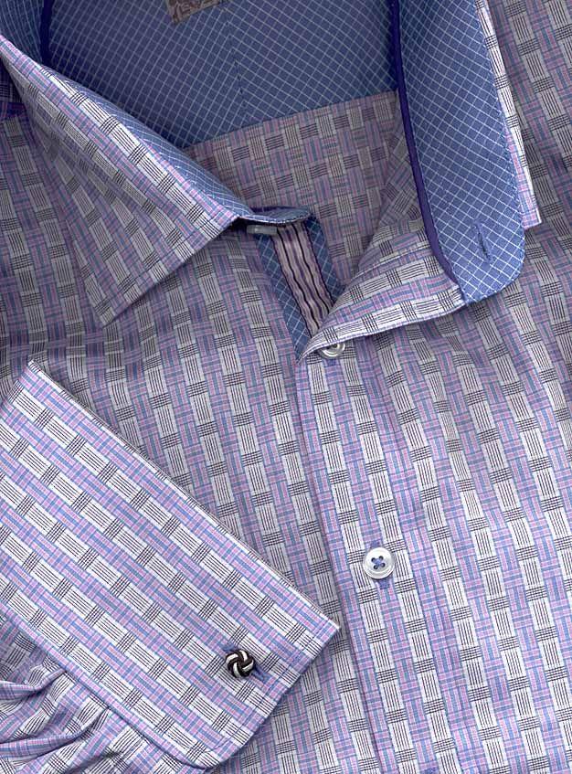 enzone french cuff shirt